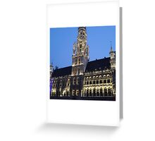 Grande Place Greeting Card