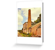 The Old Mill, Side View Greeting Card