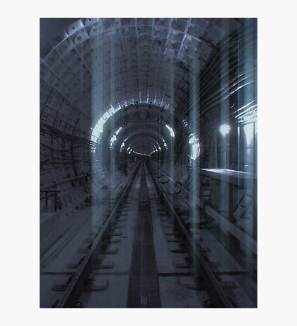 Ghosting Trails Photographic Print