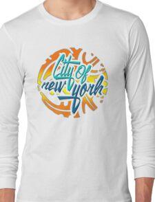 Wonderful New York Long Sleeve T-Shirt