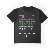 Star Trek (TNG) Space Invaders - T-shirt Graphic T-Shirt