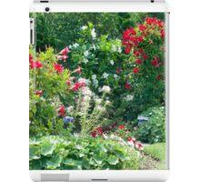 Backyard Blossoms iPad Case/Skin