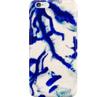 Blue Water Reflection Abstract iPhone Case/Skin