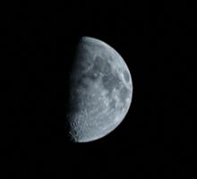 Moon Shot Sticker