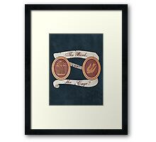 The Bird or the Cage? Framed Print