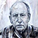 Portrait in Progress by Cameron Hampton