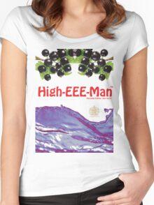 ribena rave tshirt Women's Fitted Scoop T-Shirt