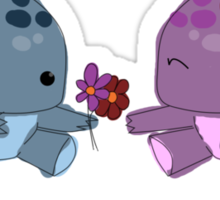 Quaggan loves you! Sticker
