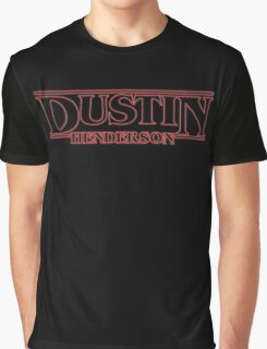 DUSTIN! BEST FRIEND Graphic T-Shirt