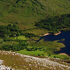 Dunlewy From Errigal by Adrian McGlynn