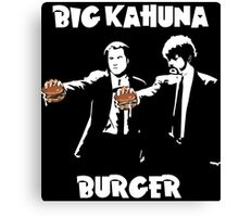 Pulp Fiction - The Kahuna Burger Canvas Print