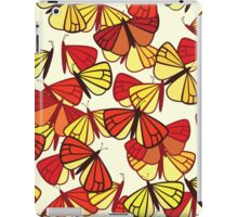 Butterflies, Insects - Red Orange Yellow Black  iPad Case/Skin