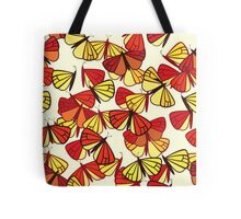 Butterflies, Insects - Red Orange Yellow Black  Tote Bag