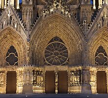 Cathedral of Reims by PhotoBilbo