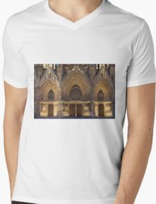 Cathedral of Reims Mens V-Neck T-Shirt