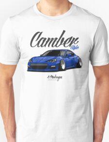Camber Style BRZ (blue) Unisex T-Shirt
