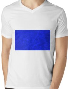 Pool Water - Blue Mens V-Neck T-Shirt