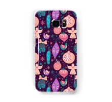 Christmas Baubles Seamless Pattern Samsung Galaxy Case/Skin
