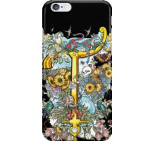 The Illustrated Alphabet Capital T (Fuller Bodied) iPhone Case/Skin
