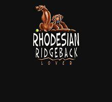 Rhodesian Ridgeback Lover (Dark) Men's Baseball ¾ T-Shirt