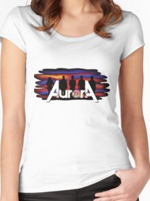 Aurora Band DFW Women's Fitted Scoop T-Shirt