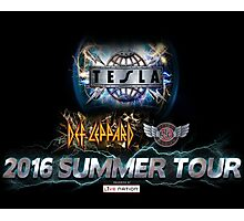 tesla summer tour 2016 Photographic Print