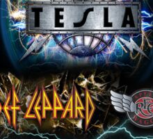 tesla summer tour 2016 Sticker