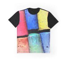 Sidewalk Chalking Graphic T-Shirt