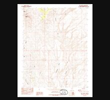 USGS TOPO Map Arizona AZ Red Pockets 313067 1985 24000 Unisex T-Shirt