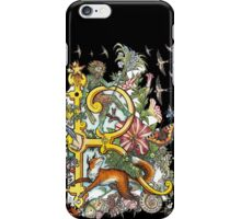 The Illustrated Alphabet Capital R (Fuller Bodied) iPhone Case/Skin