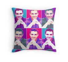Dave Franco Andy Worhol Pillow Throw Pillow