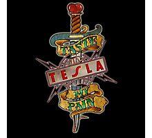tesla band Photographic Print