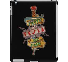 tesla band iPad Case/Skin