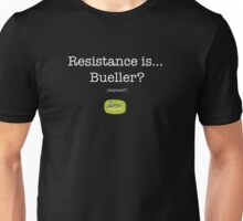 Resistance - white Unisex T-Shirt