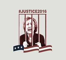Crooked Hillary In Prison Unisex T-Shirt