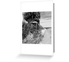Rural Telephone Box Greeting Card