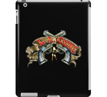 LA GUNS iPad Case/Skin