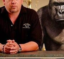 Dicks Out For Pawn Stars Harambe Tribute Sticker
