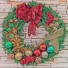 Dreamy Holiday Wreath by Webitect