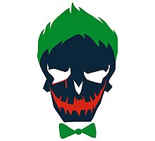 Joker - Skull Photographic Print
