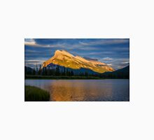 Vermillion Lakes and Mt Rundle Unisex T-Shirt