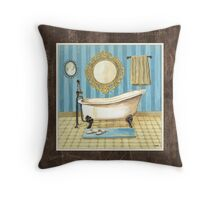Monique Bath 2 Throw Pillow