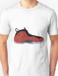 "Nike Air Foamposite One ""Metallic Red"" Unisex T-Shirt"