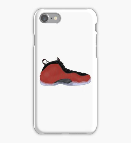 "Nike Air Foamposite One ""Metallic Red"" iPhone Case/Skin"