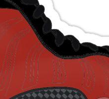 "Nike Air Foamposite One ""Metallic Red"" Sticker"