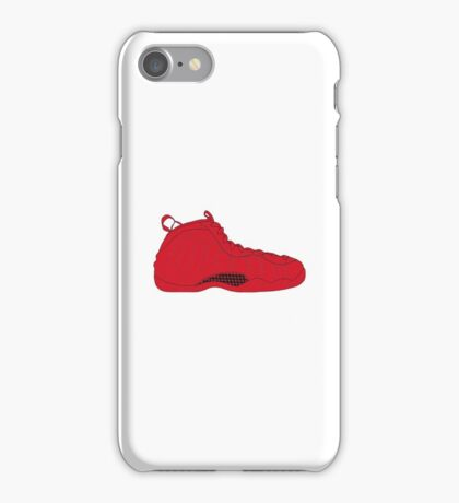 "Nike Air Foamposite One ""All Red"" iPhone Case/Skin"