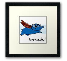 Super Hamster Framed Print