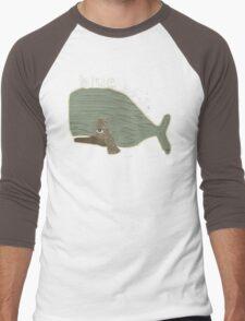blue whale Men's Baseball ¾ T-Shirt