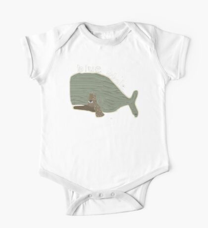 blue whale One Piece - Short Sleeve