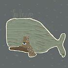 blue whale by bri-b